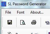 برنامج توليد كلمات السر